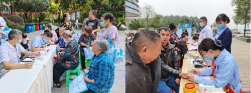 广汉市关爱巡访项目公益行动 — 义诊、按摩、义剪活动